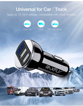 Load image into Gallery viewer, RAXFLY Dual USB Phone Car Charger