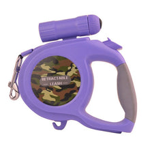 Load image into Gallery viewer, Large & Medium Dog Retractable Camouflage Leash - Omigod, Dibs!™
