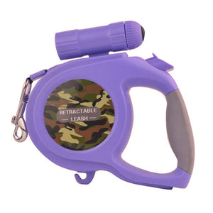 Large & Medium Dog Retractable Camouflage Leash - Omigod, Dibs!™