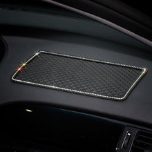 "Load image into Gallery viewer, 1PCS 12"" x 6"" Dashboard Rhinestone Crystal Anti-Slip Pad - Omigod, Dibs!™"