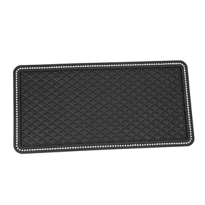 "1PCS 12"" x 6"" Dashboard Rhinestone Crystal Anti-Slip Pad"