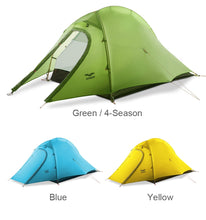 Load image into Gallery viewer, MIER 1-2 Person 3-4 Season Waterproof Camping Tent - Omigod, Dibs!™