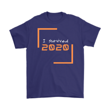 Load image into Gallery viewer, I Survived 2020 Men's T-Shirt