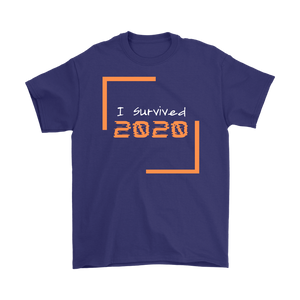 I Survived 2020 Men's T-Shirt