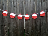 Fishing Bobber Garland, Fishing Bobber Banner, Fishing Birthday