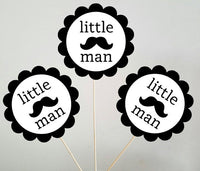 Little Man Goody Bags, Little Man Favor Bags, Little Man Gift Bags, Little Man First Birthday, Little Man Party Decorations