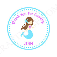 Mermaid Goody Bags, Mermaid Gift Bags, Mermaid Favor Bags, Mermaid Party Bags, Mermaid Favors