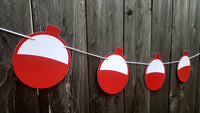 Fishing Bobber Garland, Fishing Party, Fish Bobber Garland, fishing Baby Shower, Fishing Birthday Party, Fishing Banner
