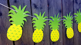 Pineapple Garland, Pineapple Banner, Tiki Banner, Aloha Banner, Hawaii Banner, Tropical Banner