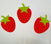 Strawberry Garland, Strawberry Banner, Strawberry Birthday, Strawberry Party, Strawberry Decorations