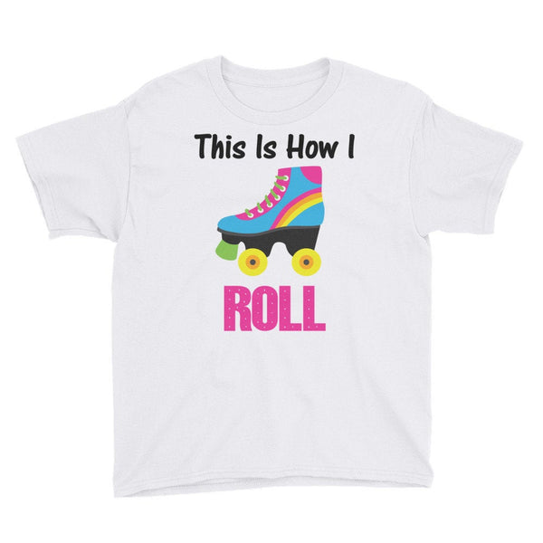 KIDS This is How I Roll T-shirt, Youth Short Sleeve T-Shirt
