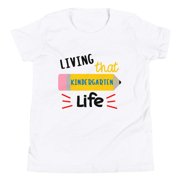 Kindergarten Life Shirt, Back to school Shirt, YOUTH Short Sleeve T-Shirt