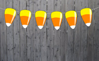 Candy Corn Garland, Halloween Garland, Halloween Photo Prop, Halloween Party Decorations, Halloween Decorations, Halloween Banner 1011701PM