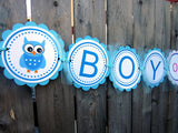 Owl Gender Reveal Cupcake Toppers - Blue Boy and Pink Girl Owls - 87161040A