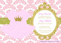 Princess Tutu Baby Shower Cupcake Toppers - Princess Cupcake Toppers, Pink Gold Cupcake Toppers, Item# 81116940P
