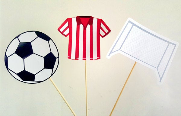 Soccer Centerpieces, Soccer Birthday Party, Soccer Baby Shower