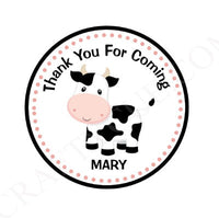 Cow Goody Bags, Cow Favor Bags, Cow Gift Bags, Farm Goody Bags, Farm Animal Goody Bags - Farm Birthday Party