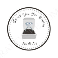 Diamond Ring Goody Bags, Diamond Ring Favor Bags, Engagement Party Favors