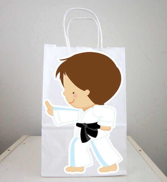 Karate Goody Bags, Karate Favor Bags, Karate Party Bags