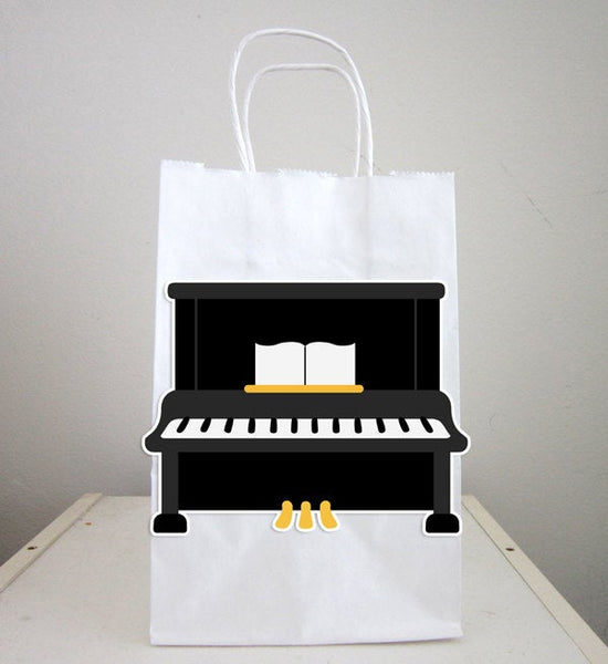 Piano Goody Bags, Music Party Favors, Music Birthday, Rock Star Birthday Party Favor, Goody, Gift Bags
