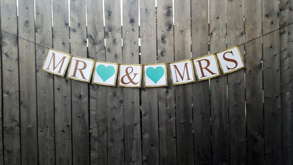 Mr. and Mrs. Banner, Mr and Mrs Sign, Mr and Mrs Banner, Wedding Banner, Rustic Wedding Banner, MR & MRS Wedding Sign, Barn Wedding