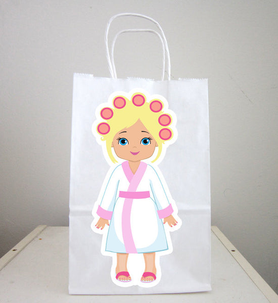 Spa Goody Bags, Spa Favor Bags, Spa Party Bags, Spa Party Bags, Spa Birthday,  (121916409P)