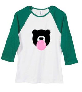 Kandy Teddy Ladies Baby Rib 3/4 Sleeve Tee