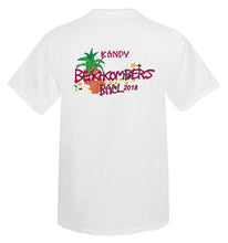 Load image into Gallery viewer, Men's KANDY Beachcombers T- Shirt Front/Back Logo
