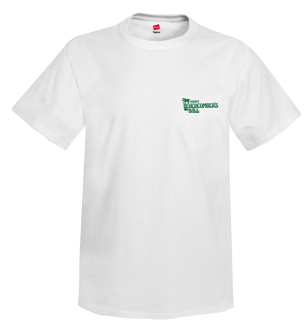 Men's KANDY Beachcombers T- Shirt Front/Back Logo