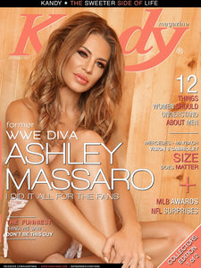 Kandy Magazine October 2017 featuring Former WWE Diva Ashley Massaro