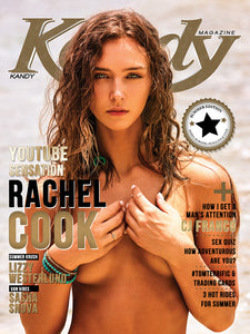 Kandy Magazine Summer 2019 Print Issue featuring Rachel Cook