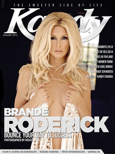 Donald Trump's Celebrity apprenctice star Brande Roderick