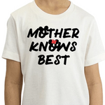 Mother Knows Best Youth Tee