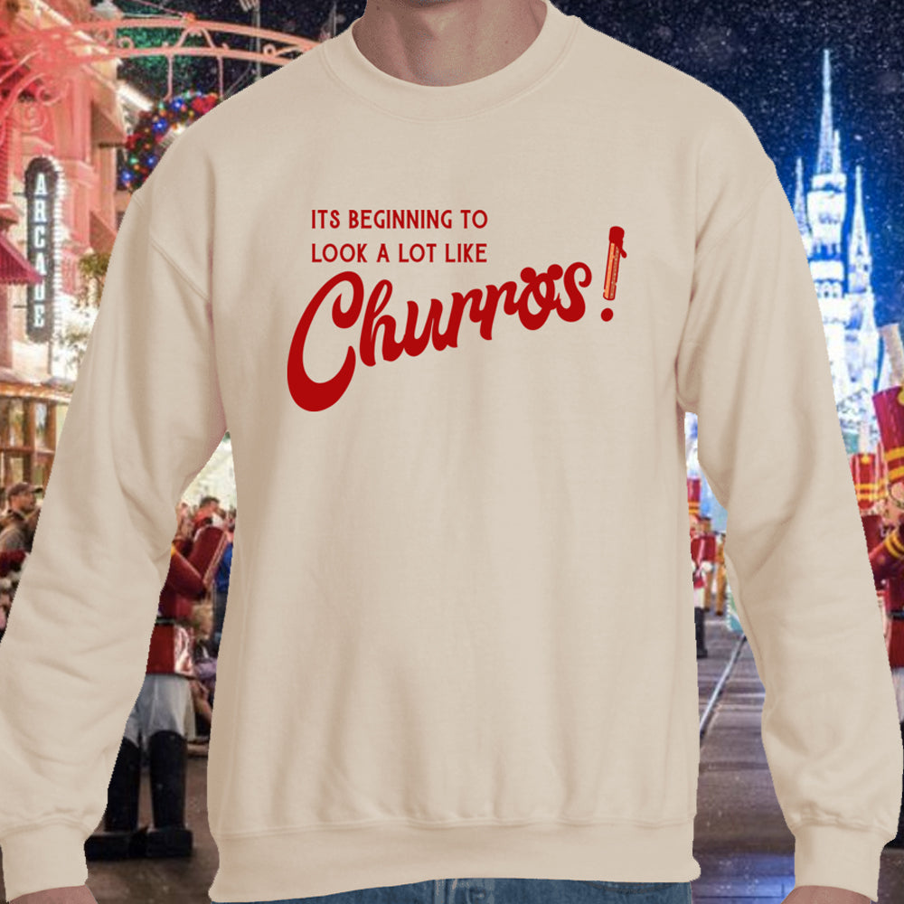 Churro Christmas Sweatshirt