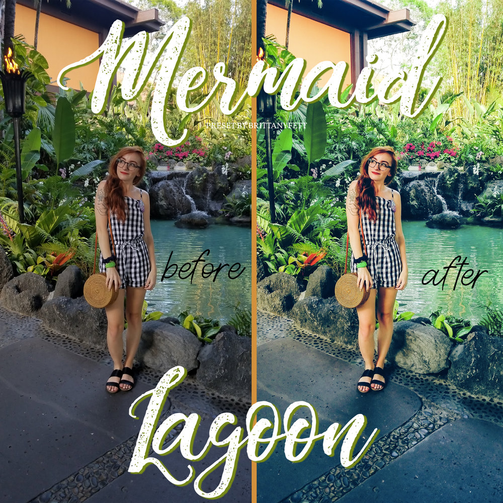 Mermaid Lagoon Preset