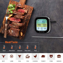 Load image into Gallery viewer, SMARTRO ST59 Digital Meat Thermometer for Oven BBQ Grill Kitchen Food Smoker Cooking with 2 Probes and Timer