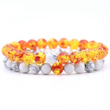 Load image into Gallery viewer, 2 Pcs/set Natural Square Stone Bracelet Set - campfiredeals
