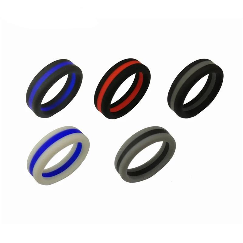 5 Silicone Rings. ..One Price ring campfiredeals