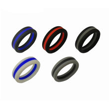 Load image into Gallery viewer, 5 Silicone Rings - campfiredeals