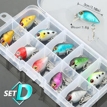 Load image into Gallery viewer, 5/8/10pcs Mixed Colors Fishing Lure Set - campfiredeals