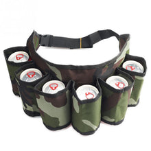 Load image into Gallery viewer, 6 Pack Holster Waist Belt Bag - campfiredeals