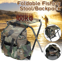 Load image into Gallery viewer, Folding Portable Fishing Chair - campfiredeals