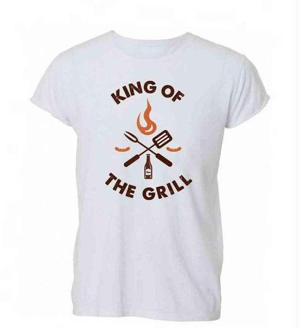 King of The Grill T-Shirt - campfiredeals