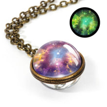 Load image into Gallery viewer, Nebula Galaxy Pendant Necklace - campfiredeals