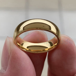 Classic Gold Color Wedding Ring - campfiredeals