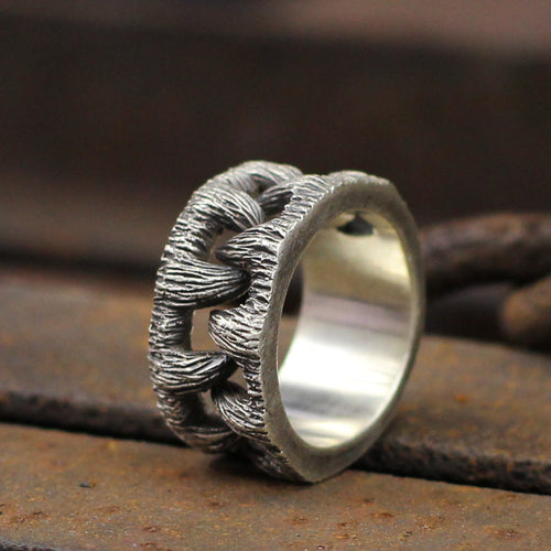 Unique Goth Monster Teeth Ring - campfiredeals