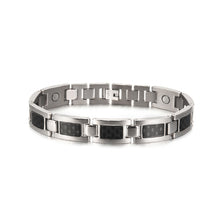 Load image into Gallery viewer, Magnetic Carbon Fiber Bracelet - campfiredeals