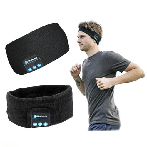 Bluetooth Music Headband With Microphone - campfiredeals