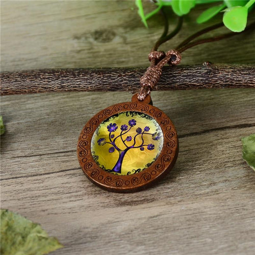 Tree of Life Cabochon Pendant - campfiredeals