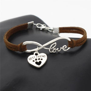 Womens Leather Bracelet - campfiredeals